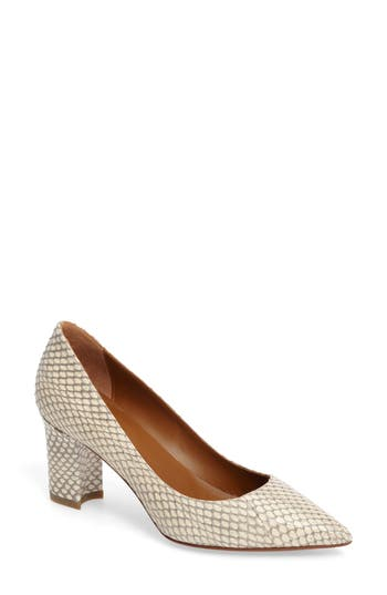 Aquatalia Michaela Genuine Snakeskin Pump (Women)