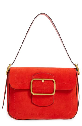 Tory Burch Sawyer Suede Shoulder Bag