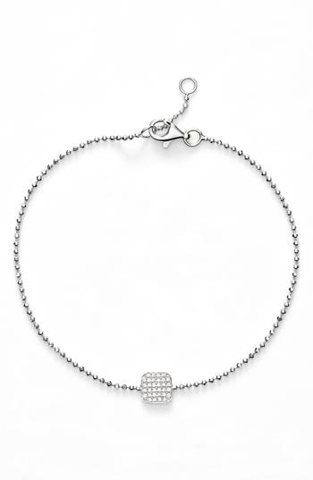 Bony Levy 'Aurora' Diamond Pavé Square Bracelet (Nordstrom Exclusive)