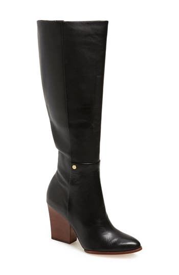 Calvin Klein 'Zurie' Knee High Pointy Toe Boot (Women)