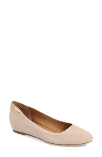 Calvin Klein 'Machia' Hidden Demi Wedge Skimmer (Women)