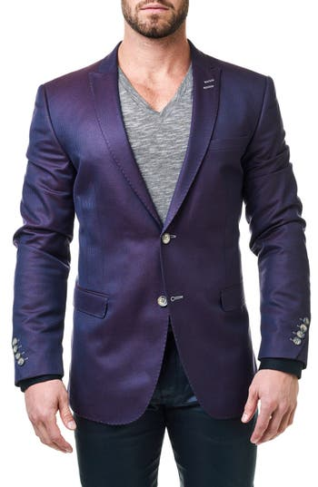 Maceoo Descarte Jacquard Sport Coat