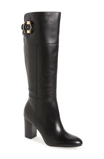 Isolá 'Coralie' Knee High Studded Buckle Boot (Women)