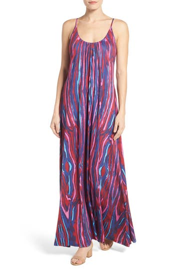 Felicity & Coco Print Jersey A-Line Maxi Dress (Regular & Petite) (Nordstrom Exclusive)