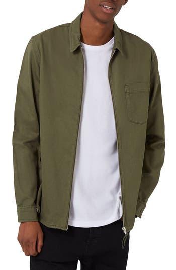 Topman Zip Shirt Jacket