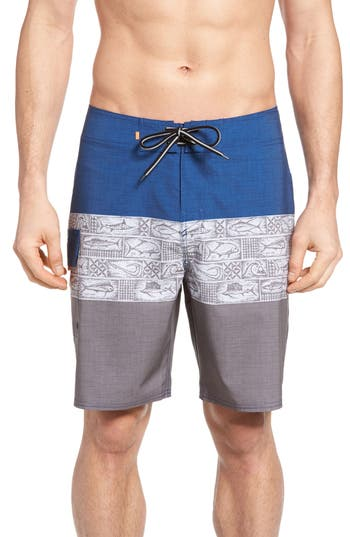 Quiksilver Waterman Collection Fairway Tri Block Board Shorts