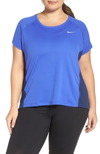 Nike Dry Miler Top (Plus Size)