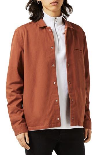 Topman Boxy Shirt Jacket
