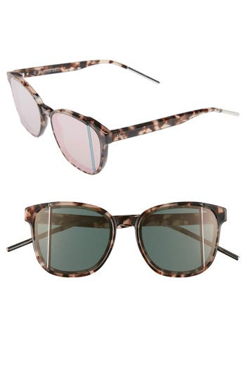 Christian Dior Diorsteps 55mm Retro Sunglasses