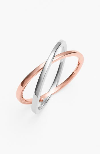 Bony Levy 14KT Crossover Open Ring (Nordstrom Exclusive)