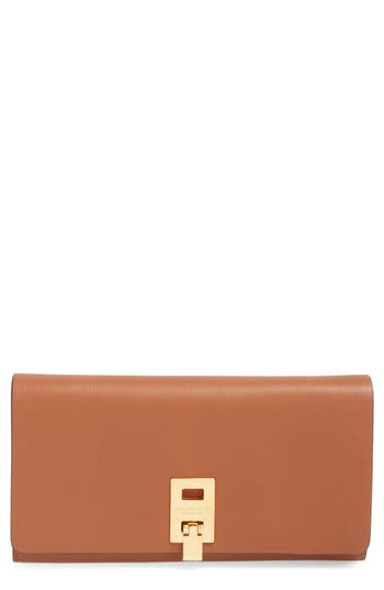 Michael Kors 'Miranda' Leather Continental Wallet