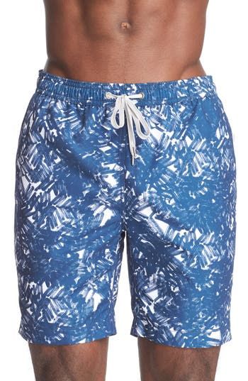 ONIA 'Charles' Print Swim Trunks