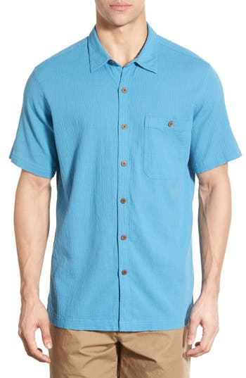 Patagonia 'A/C®' Regular Fit Organic Cotton Short Sleeve Sport Shirt