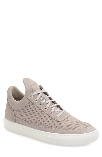 Filling Pieces Perforated Low Top Sneaker (Men)
