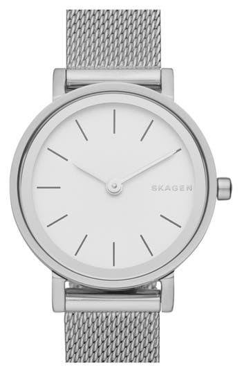 Skagen 'Hald' Mesh Strap Watch, 26mm