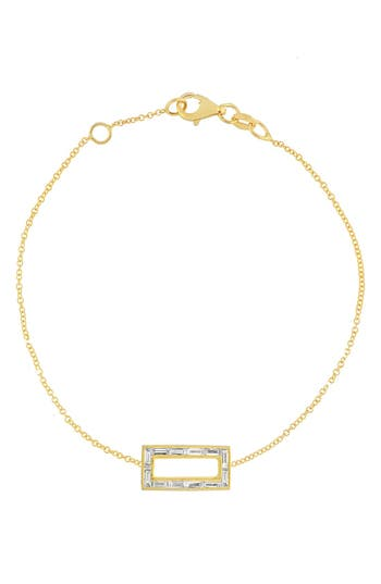 Bony Levy Baguette Diamond Rectangle Bracelet (Nordstrom Exclusive)