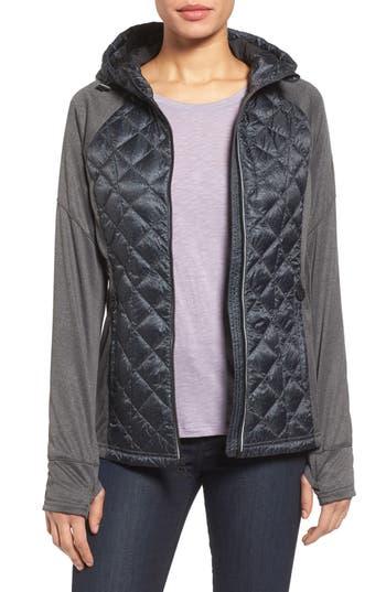 MICHAEL Michael Kors Mixed Media Jacket (Regular & Petite)