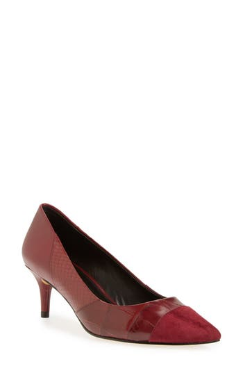 COACH 'Lacey' Pointy Toe Pump (Women)