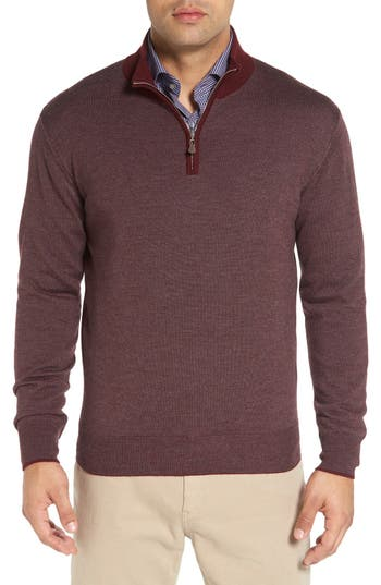 Peter Millar Stripe Wool Blend Pullover