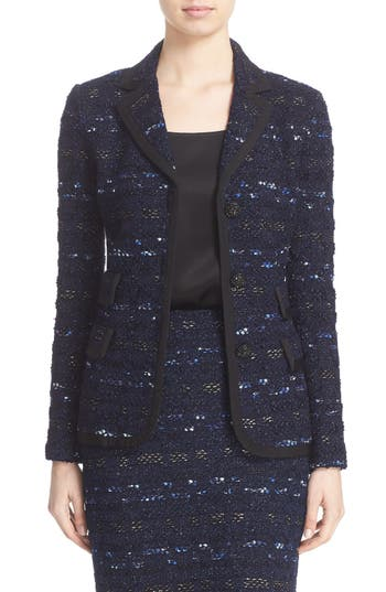 St. John Collection Evening Cruise Stripe Jacket
