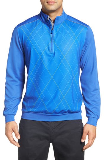 Bobby Jones 'Raker' Quarter Zip Performance Pullover