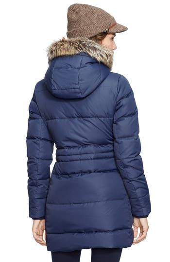Lauren Ralph Lauren Faux Fur Trim Down & Feather Fill Parka