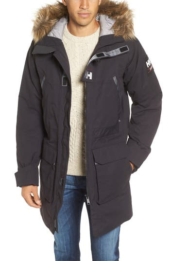 Helly Hansen Legacy Parka with Faux Fur Trim