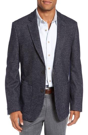 FLYNT Regular Fit Stripe Wool Blend Sport Coat