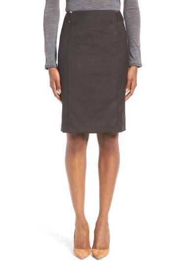 BOSS Vobina Wool Suit Skirt (Regular & Petite)