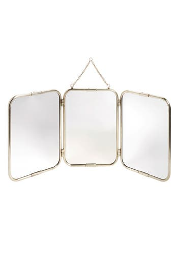 Creative Co-Op 3-Panel Mirror