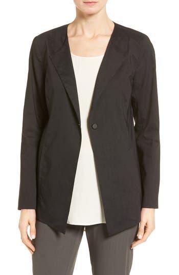 Eileen Fisher Stretch Organic Cotton Jacket