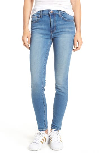 Current/Elliott High Waist Skinny Jeans (Portsmith)