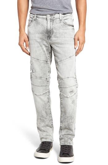 True Religion Brand Jeans Rocco Skinny Fit Jeans (DQBL Light Rail) (Regular & Big)