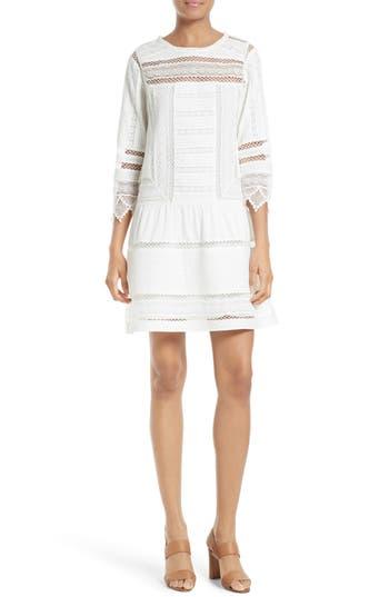 Joie Amberly Cotton Drop Waist Dress