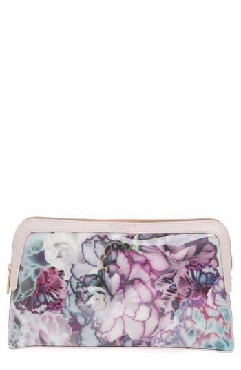 Ted Baker London Large Illuminated Bloom Cosmetics Case