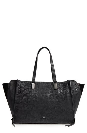 Vince Camuto Large Riley Leather Tote