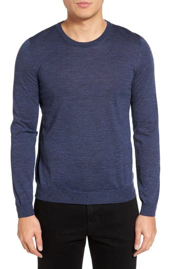 BOSS Leno-B Crewneck Wool Sweater
