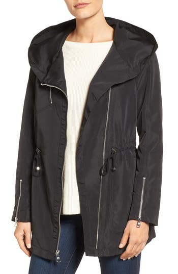 Vince Camuto Exaggerated Hood Anorak