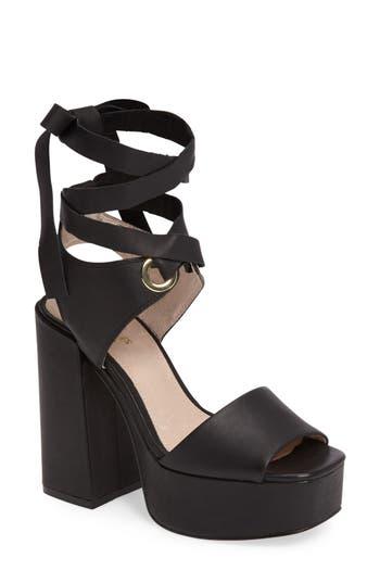 Shellys London Dara Wraparound Platform Sandal (Women)