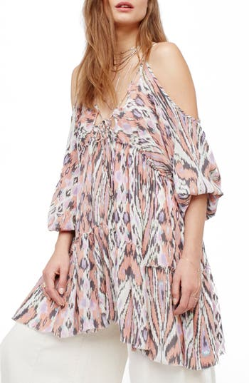 Free People Monarch Cold Shoulder Minidress