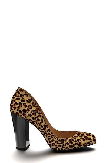 Shoes of Prey Leopard Genuine Calf Hair Pump (Women)