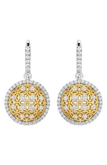 Jack Kelége 'Gatana' Diamond Drop Earrings