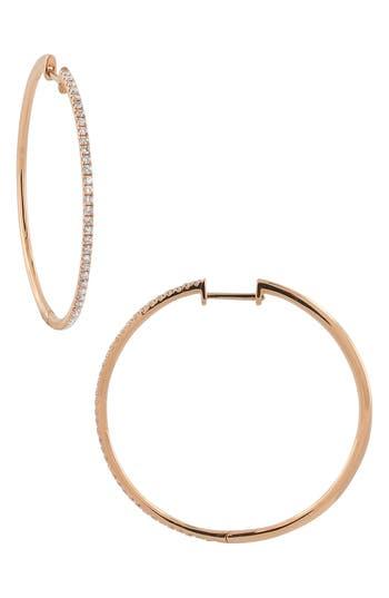 Bony Levy Diamond Hoop Earrings (Nordstrom Exclusive)