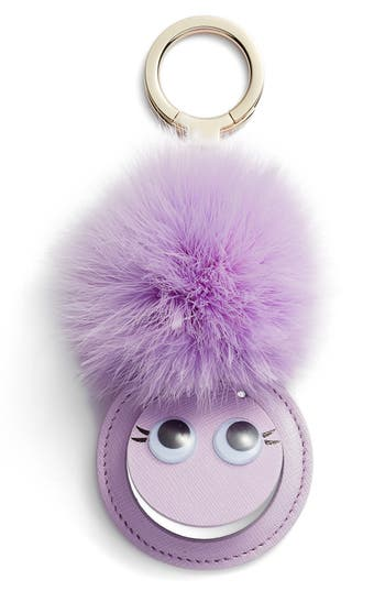 kate spade new york mirror monster feather bag charm