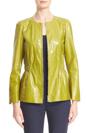 Lafayette 148 New York Lucina Leather Jacket
