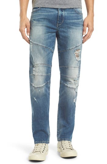 True Religion Brand Jeans Geno Straight Leg Jeans (DQFM Worn Rebellion) (Regular & Big)