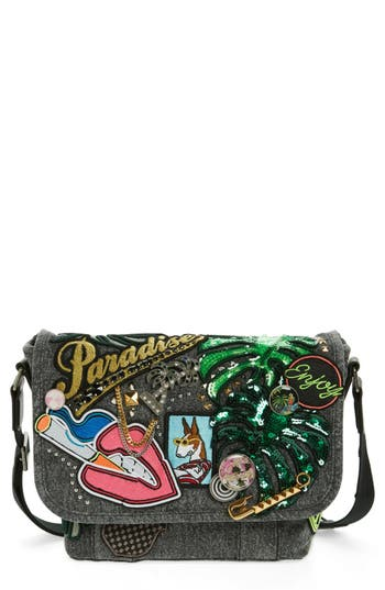 MARC JACOBS Small Courier Paradise Crossbody Bag