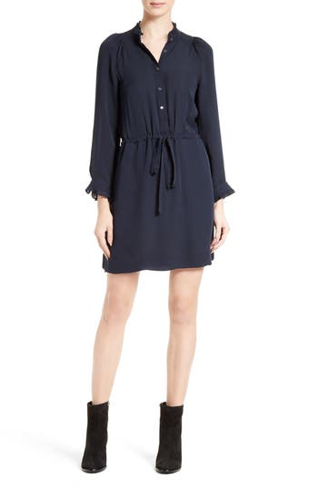 Rebecca Taylor Silk Georgette Shirtdress