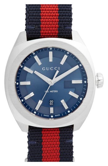Gucci Web Strap Watch