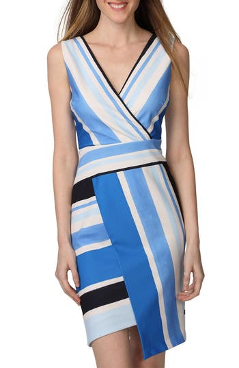 Donna Morgan Asymmetrical Sheath Dress